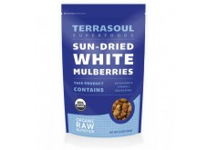 HF-RG06402 Terrasoul Superfoods- Mulberries, White, Organic, Raw 有機桑椹, 生機 (1 lb)