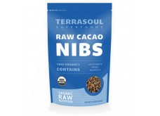 HF-RG04308 Terrasoul Superfoods- Cacao Nibs, Organic, Raw 有機可可粒, 生機 (l lb)